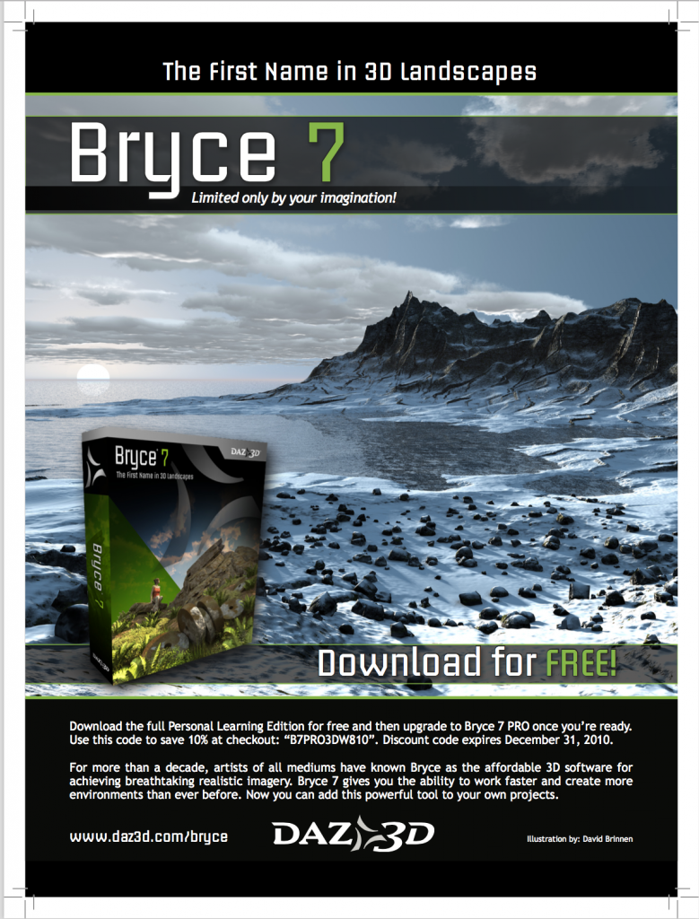 Download free bryce 7.1 downloads