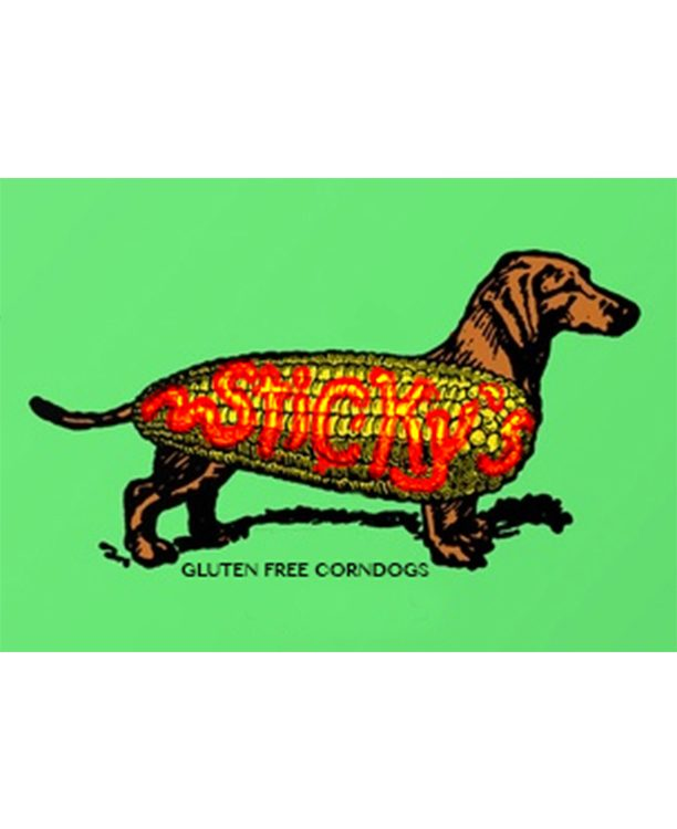 Sticky's CornDogs Logo