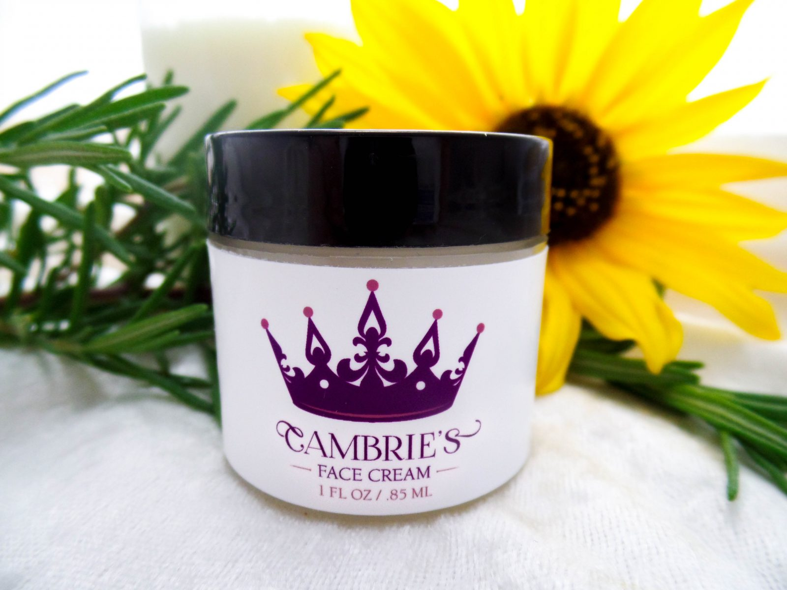 Cambries Face Cream Label