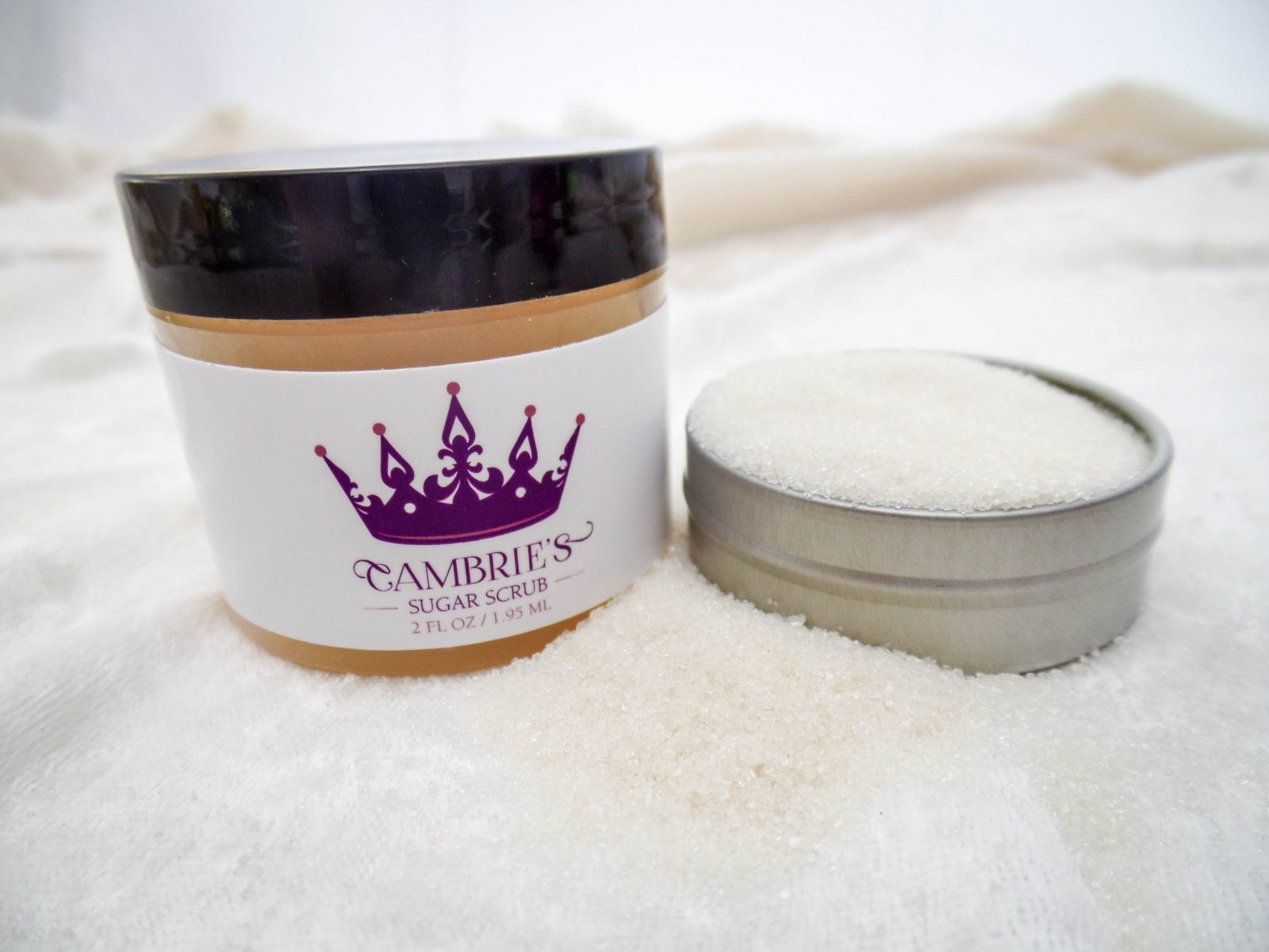 Cambries Sugar Scrub Label