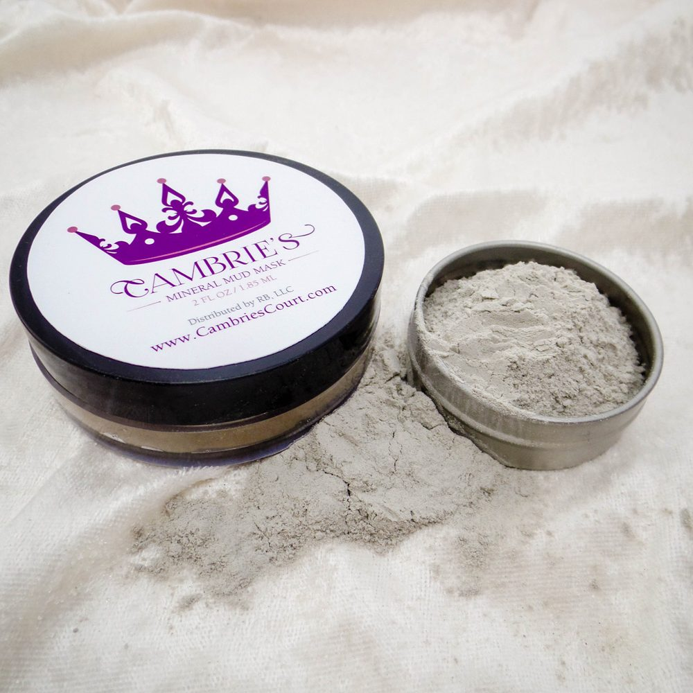 Cambries Mineral Mud Mask Label
