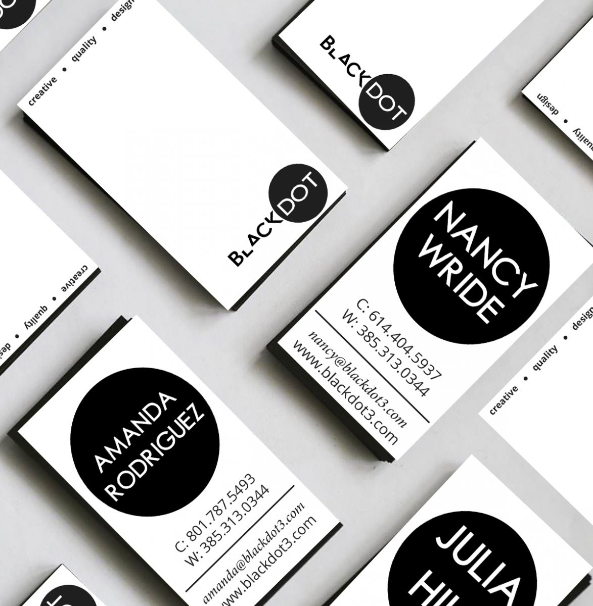 blackdot business cards